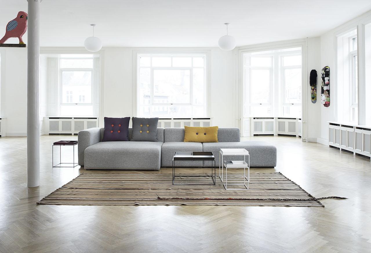HAY Mags Sofa 3 Sitzer Komination 4 Left End | Hallingdal 116