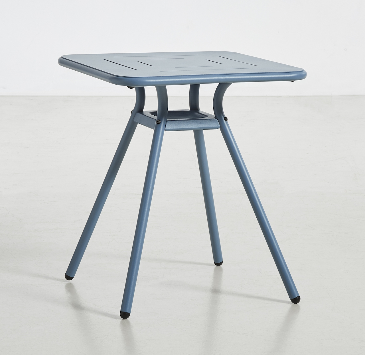 Woud Ray Café Table square blau