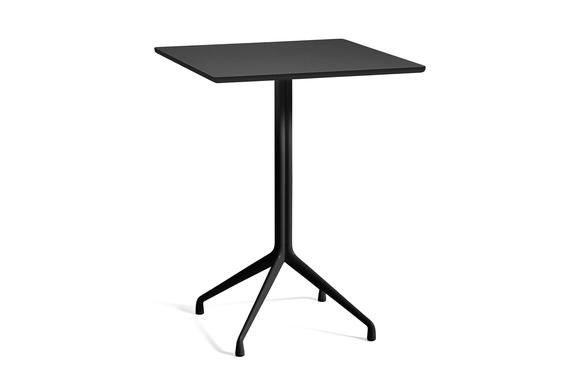 HAY Tisch AAT15 schwarz hoch 80x80cm