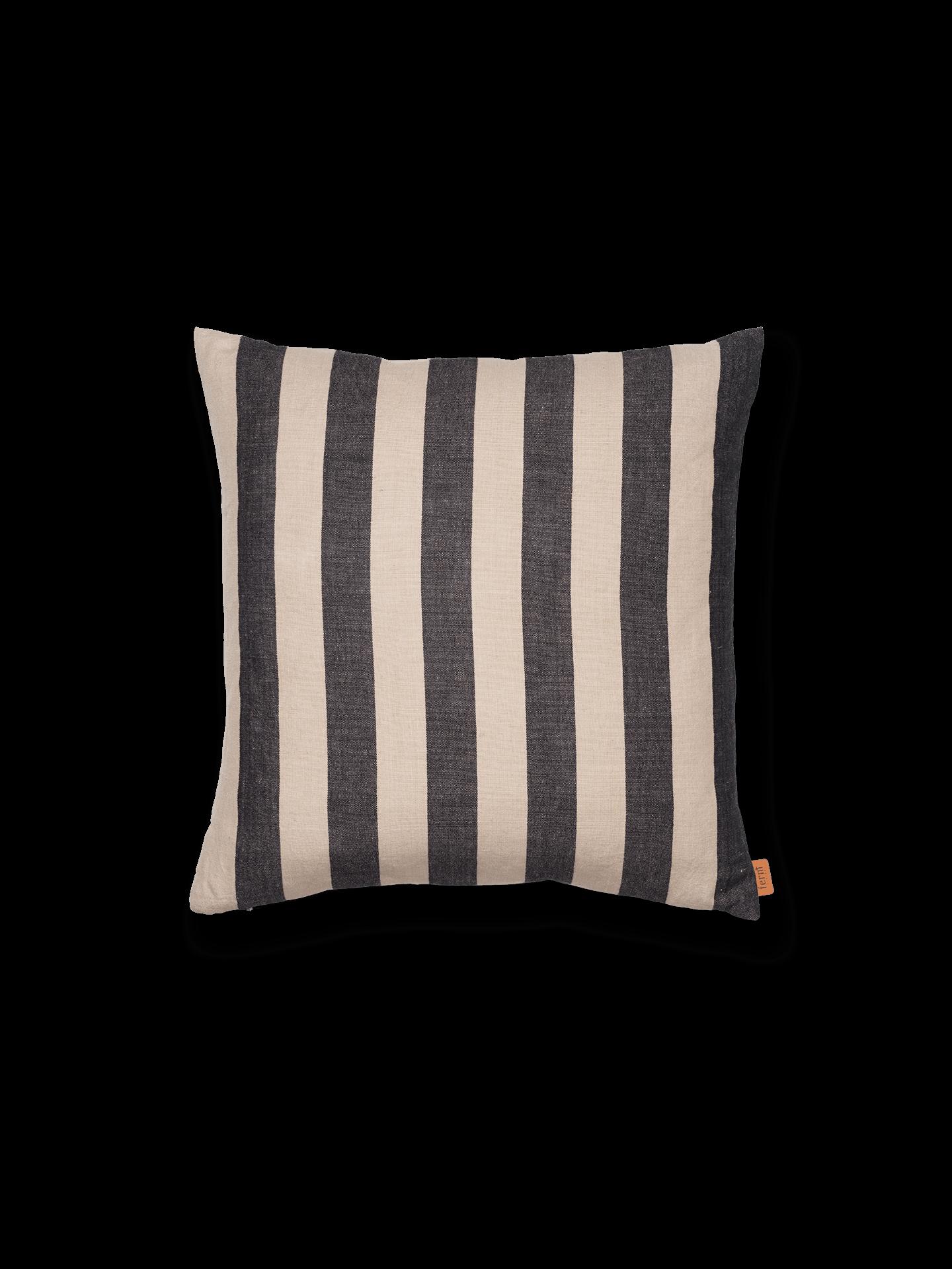 ferm living Grand Cushion black / sand