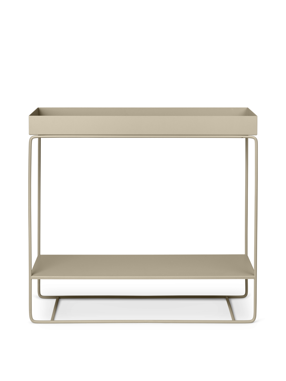 ferm living Plantbox two tier taupe