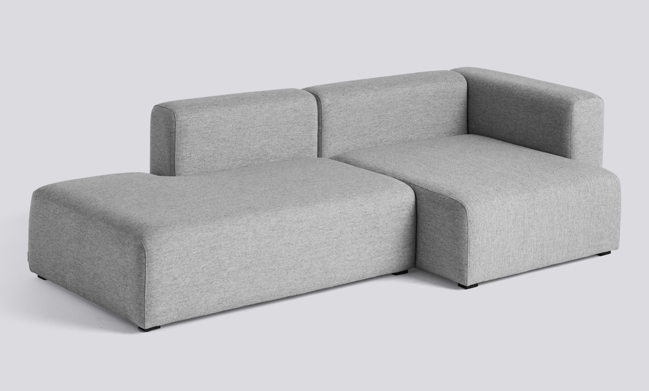 HAY Mags Sofa 2,5 Sitzer Komination 3 right End Hallingdal 130