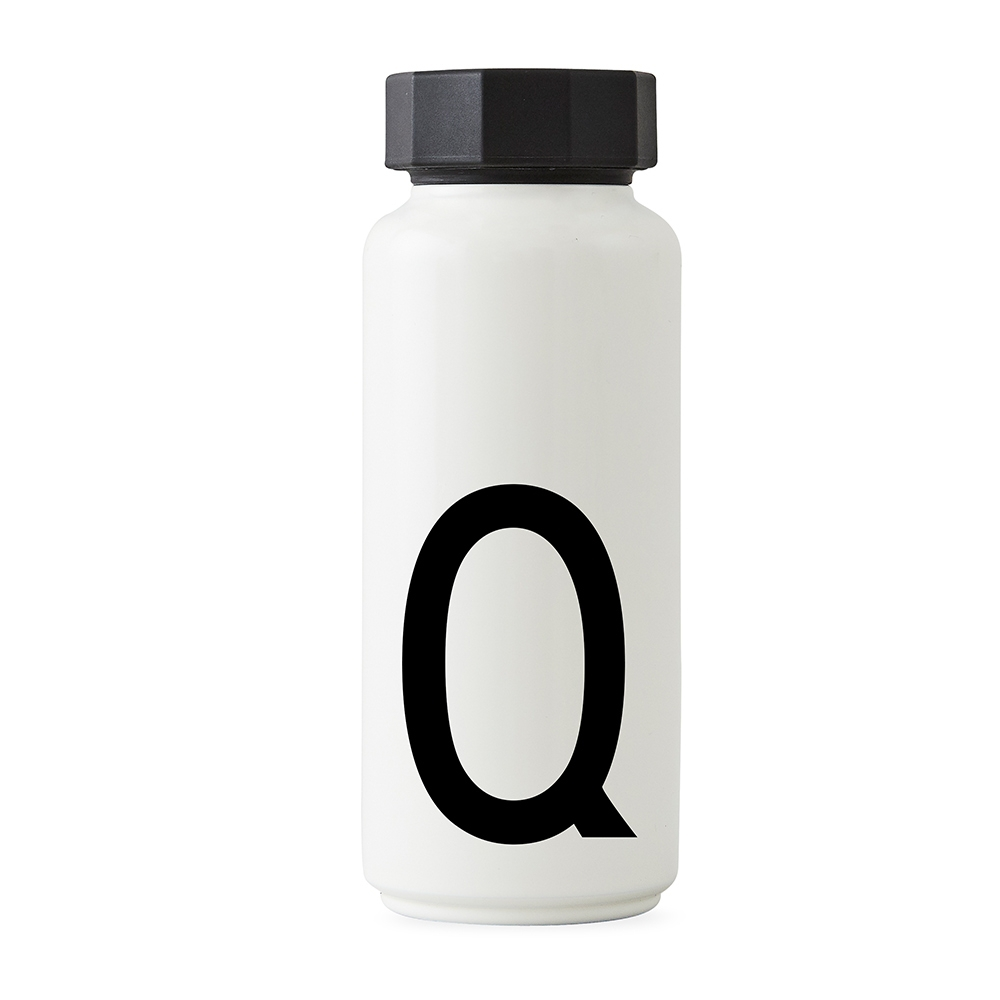 Design Letters Thermosflasche Q