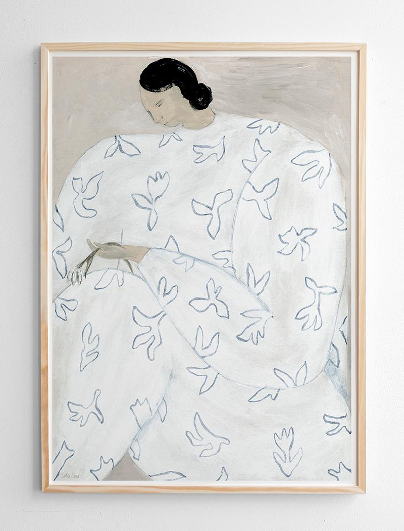 fine little day Poster White Flower