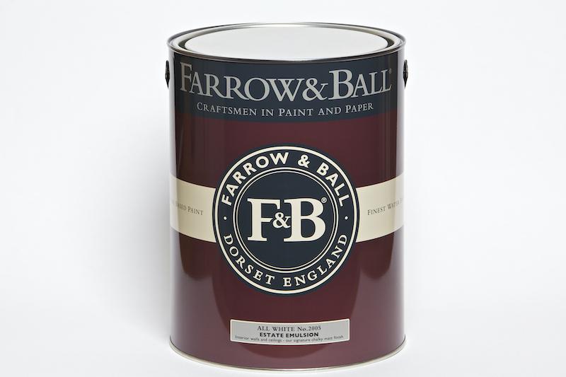 Farrow & Ball Farbe All White No.2005