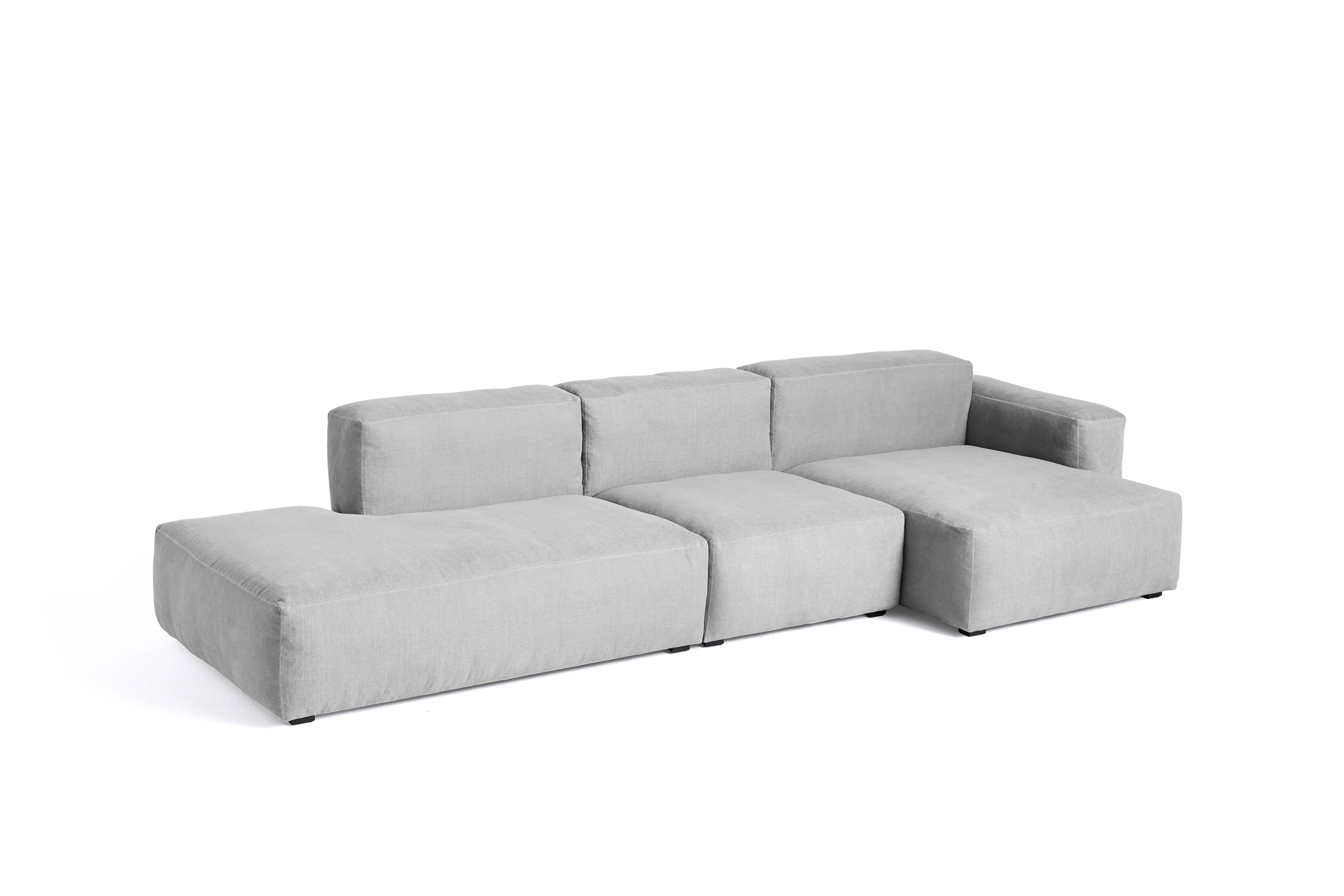 HAY Mags Soft Sofa 3 Sitzer Kombination 4 right low