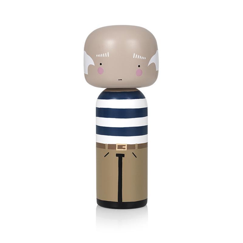 Lucie Kaas Kokeshi Doll Pablo