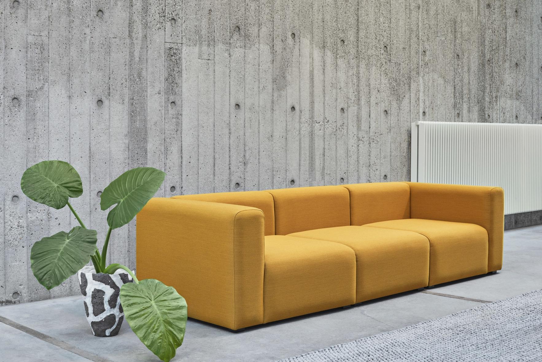 HAY Mags Sofa 3 Sitzer Komination 1 | Steelcut Trio 446