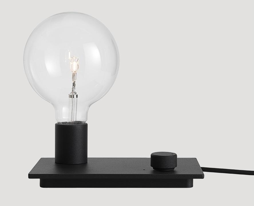 Control Lamp LED schwarz von muuto