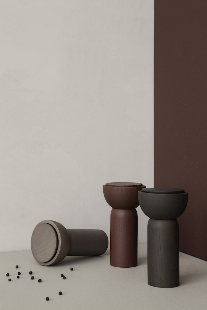 ferm living Drupe Mill red-brown ash