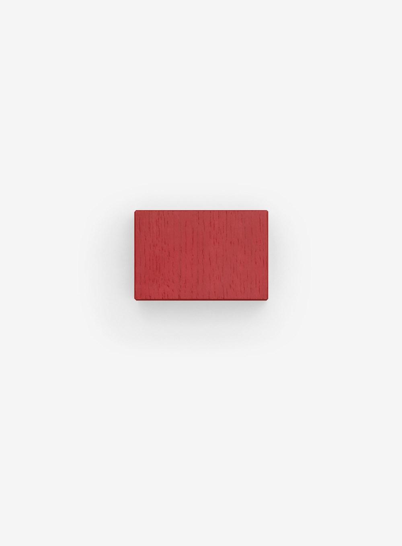 Kvadrat Centre Support / Mittelstütze bordeaux rot