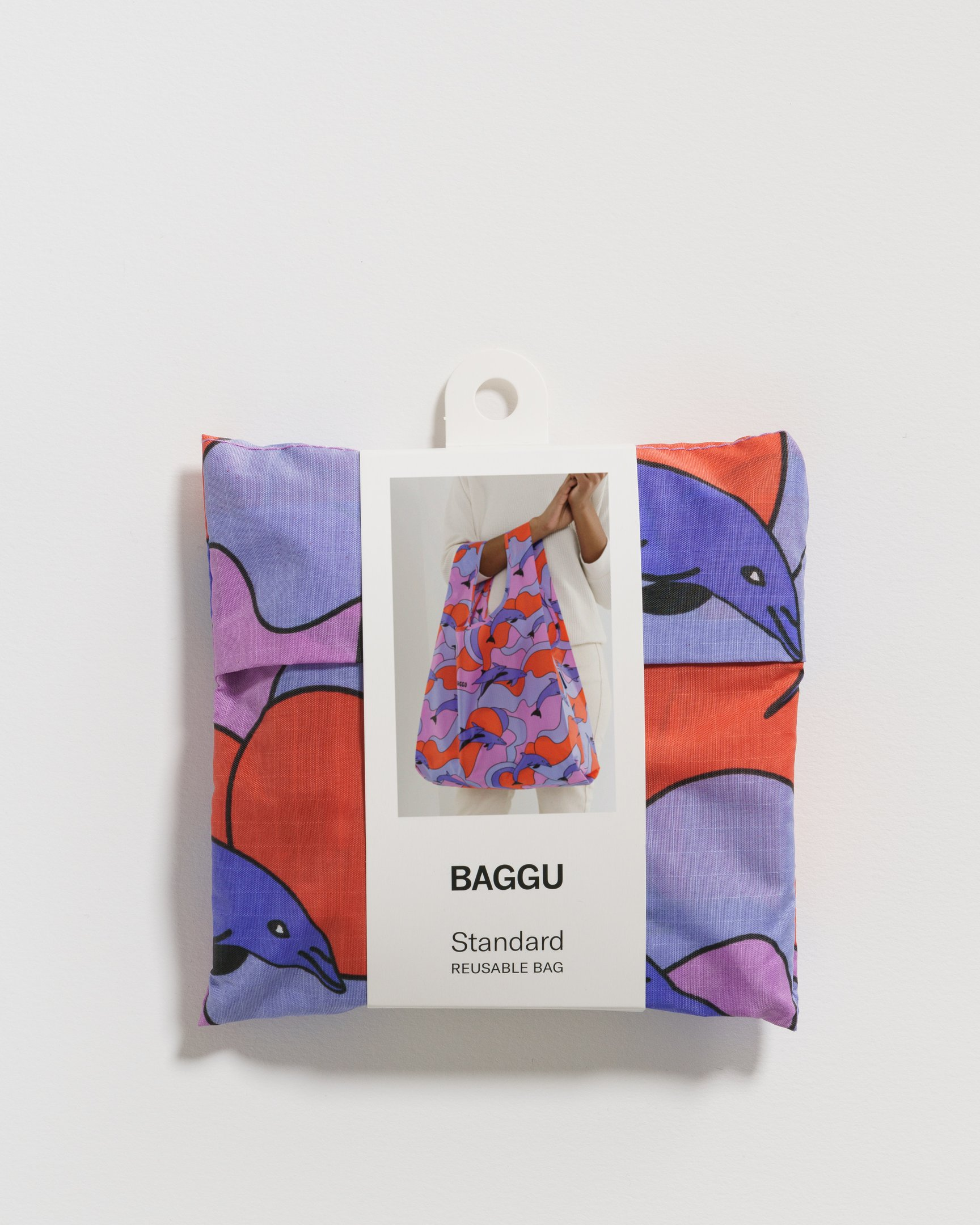 BAGGU Einkaufsbeutel Delfine