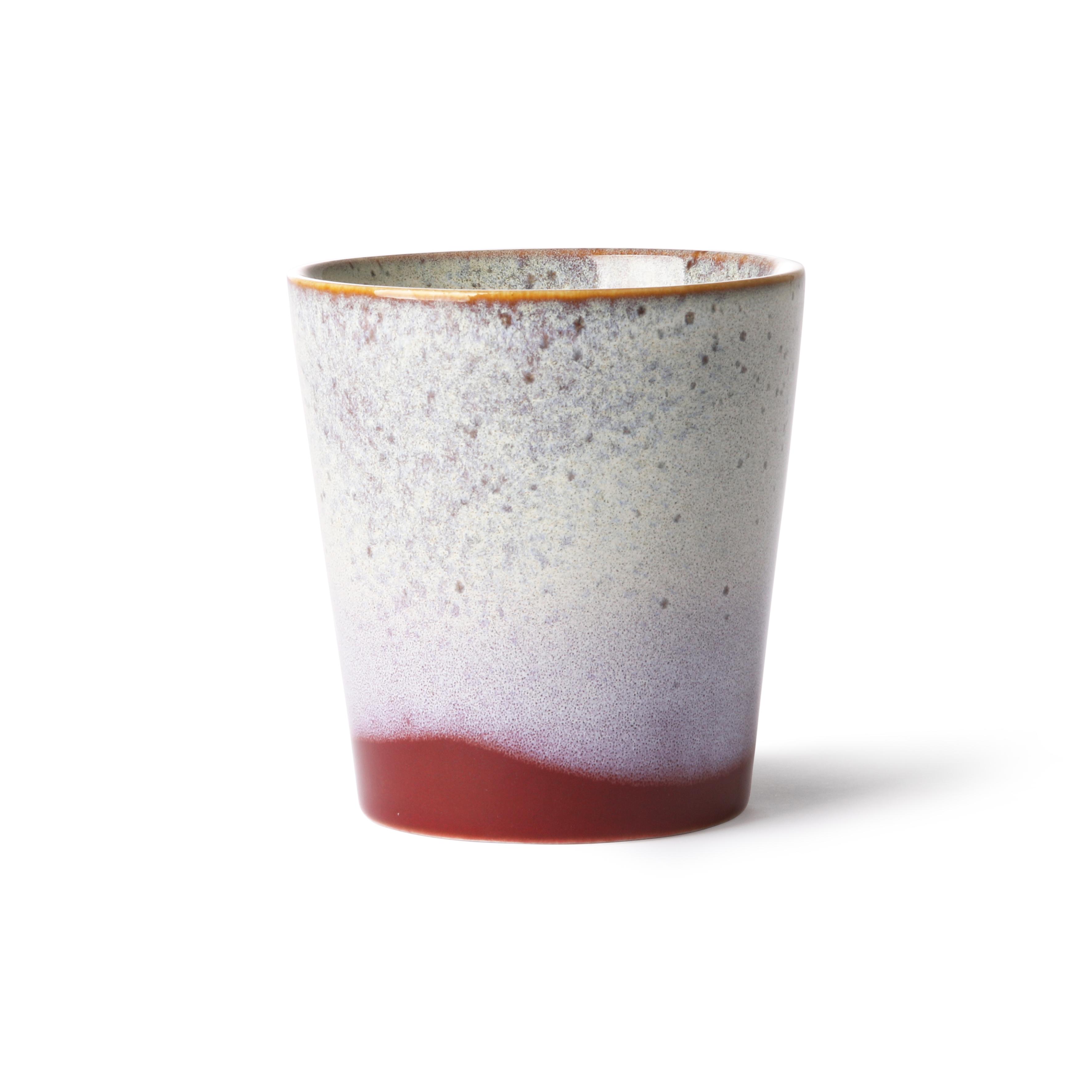 HK Living Ceramic 70's Becher frost
